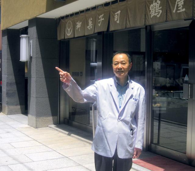 「お向かいは料亭でした」と話す岩橋義春さん