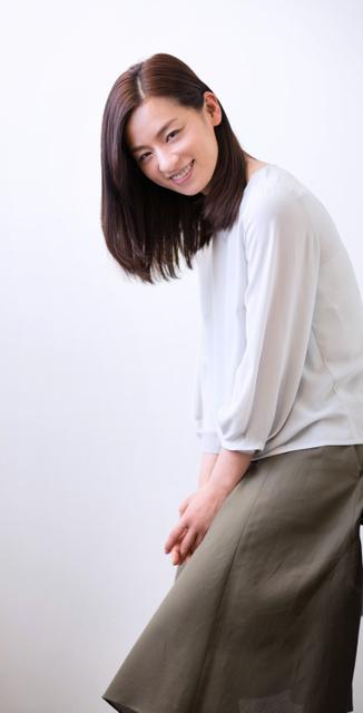 尾野真千子さん=山本倫子撮影