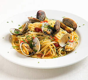 「ティ・ピッキオ」のあさりのスパゲッティ