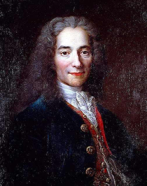 ヴォルテールの肖像画