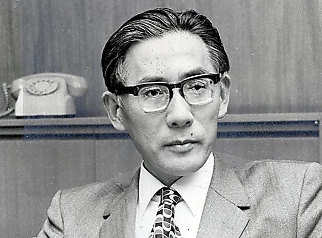 長沼裁判の一審に最後の証人として出廷した小林直樹・東京大学教授=1973年5月撮影