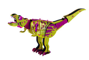 木製パズルでティラノを作ろう 恐竜や動物など6種類