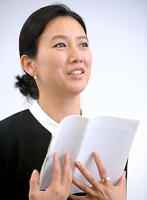 戸田菜穂さん=西田裕樹撮影
