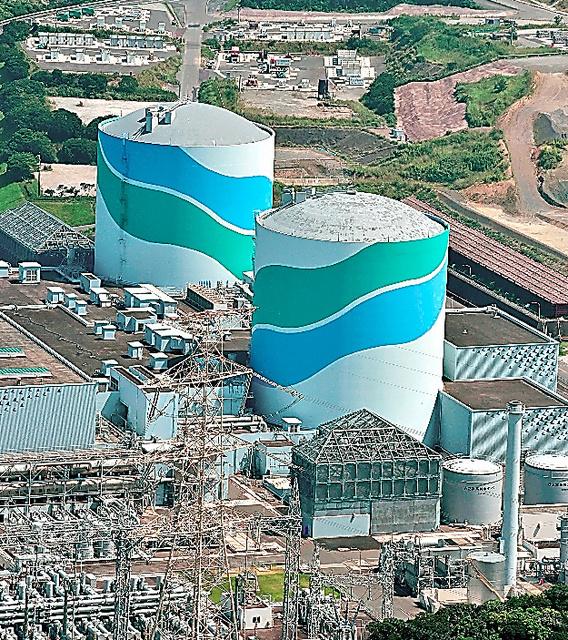 昨年8月以降に再稼働した九州電力川内原発=鹿児島県薩摩川内市