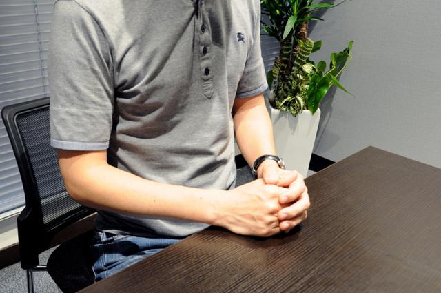 東京地検立川支部が誤認起訴した疑いがある男性は、朝日新聞の取材に「早く被告の立場から解放されたい」と語った=東京都内