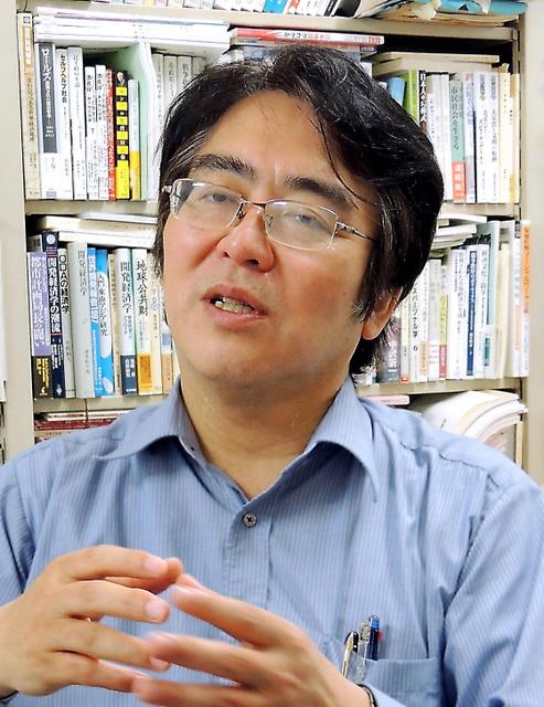 広井良典・京大教授