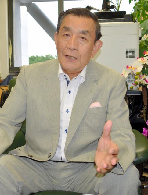佐々木信夫・中央大教授=八王子市