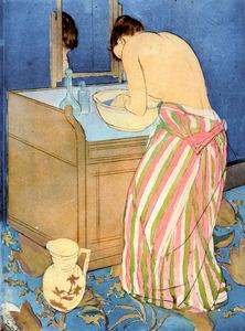 メアリー・カサット「沐浴する女性」=米国・ブリンマー・カレッジ蔵 Courtesy of Bryn Mawr College