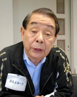 山口敏夫氏