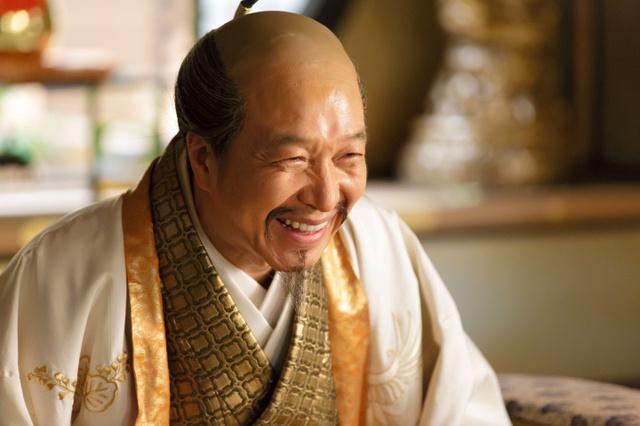 「真田丸」で豊臣秀吉を演じた小日向文世さん=NHK提供