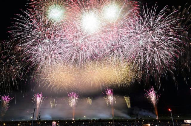 昨年8月に行われた「大曲の花火」