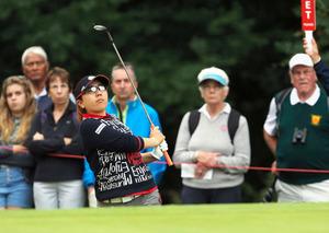 宮里美香が11位発進 全英女子ゴルフ