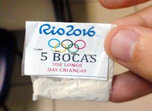 リオ五輪のロゴ入りコカイン、当局が押収 現地報道