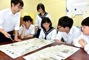 北海道)室蘭栄高新聞局が18歳選挙権特集