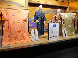 ドラマの進展に合わせて衣装も展示替えされた=上田市の信州上田真田丸大河ドラマ館