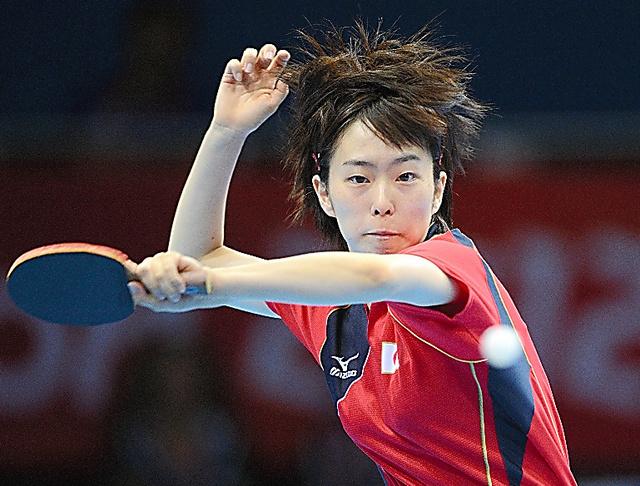 卓球の石川佳純