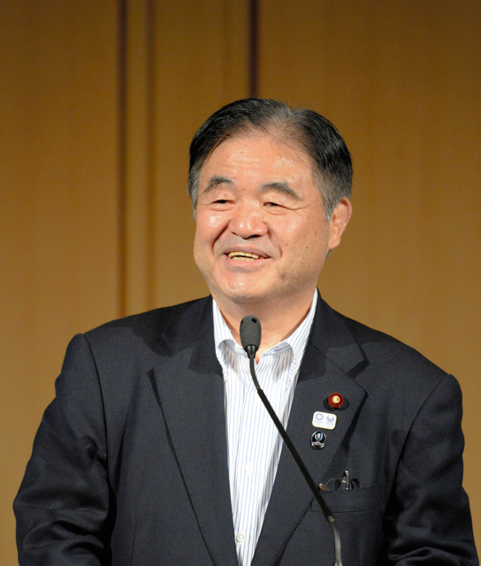 前五輪担当相の遠藤利明さん