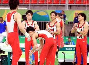 体操 男子 日本 代表