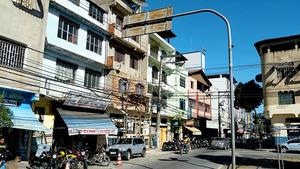 リオ五輪の聖火リレーを辞退したイパチンガ市の町並み=ブラジル・ミナスジェライス州