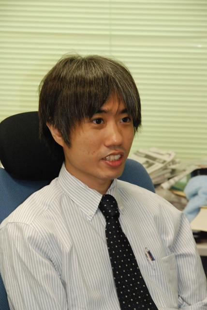 西村裕一・北海道大准教授=豊秀一撮影