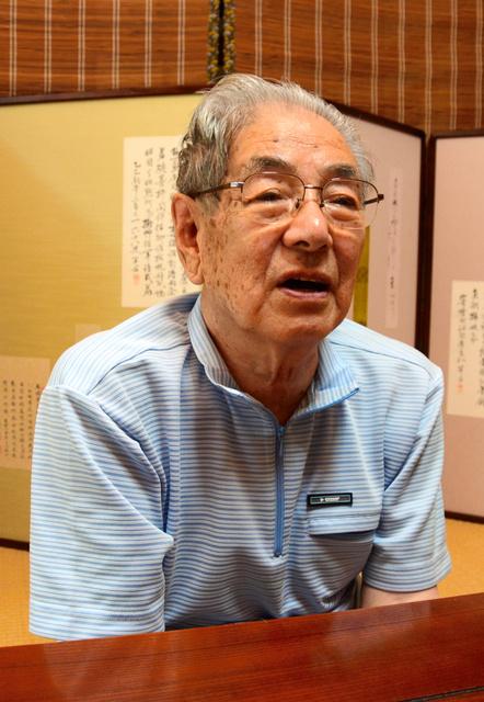 増田実さんの長男、一也さん=常総市