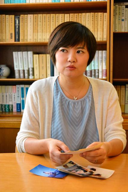 6月に仕事で相模原市を訪れたという佐藤倫子さん。事件の報に触れ、「あの相模原で」と驚いたという=香川県丸亀市