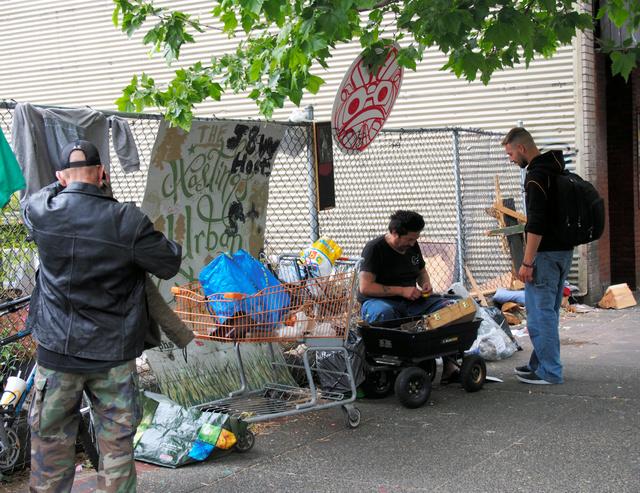 カナダ・バンクーバーの最貧困地域、ダウンタウン・イーストサイド。豊かな福祉国家、カナダでも貧困は消えない