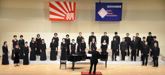 """コンクール大賞を受賞したKammerchor """"Hiroshima Kantorei""""=広島市安佐南区民文化センターホール"""