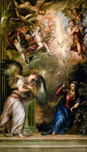 「受胎告知」=サン・サルヴァドール聖堂(イタリア・ベネチア)蔵
