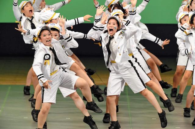 金賞を受賞した品川区・品川女子学院中の「Next」=新宿区、北村玲奈撮影