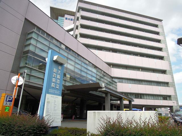元職員に医療費着服の疑いが浮上した大阪府東大阪市の市立総合病院=同市西岩田3丁目