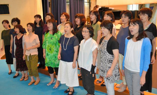 全国大会に出場する川内女声合唱団フローレス・ヴォーチェ=薩摩川内市