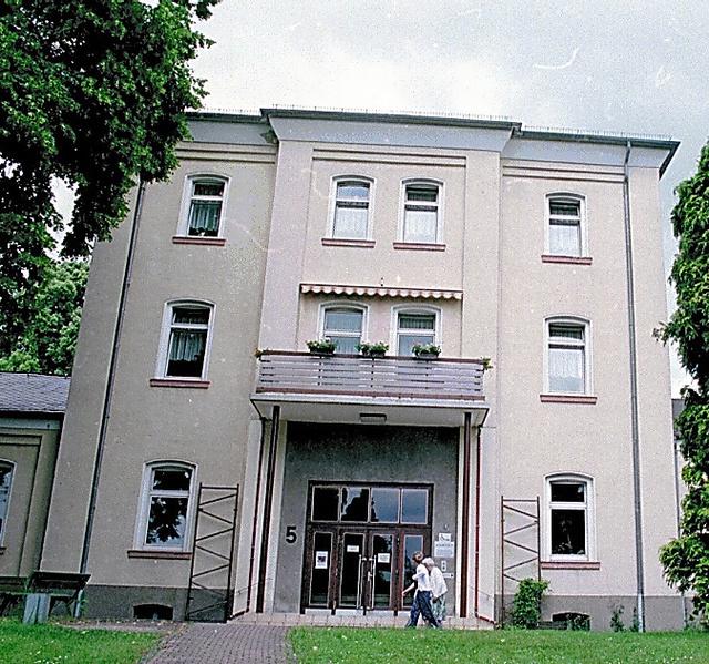 障害者を虐殺したガス室が保存されている精神科病院=ドイツ・ハダマー(1998年撮影)