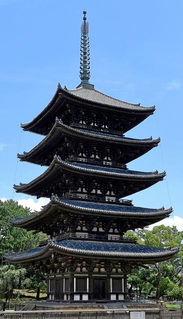 興福寺の五重塔=伊藤進之介撮影