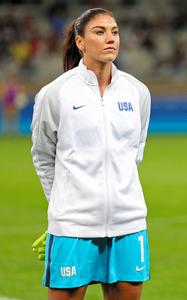 サッカー米女子代表ホープ・ソロ、不適切発言で処分