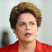 ブラジルのルセフ大統領=18日、ブラジリアで