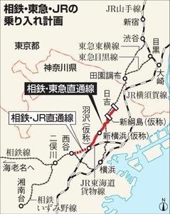 相鉄線、JR・東急との直通運転を延期 最大3年半遅れ