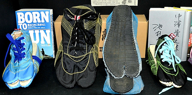 地下足袋の製造技術を生かした、きねや足袋の「MUTEKI」