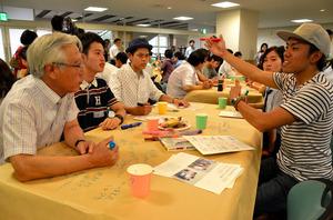 熊本)「くまもと復興カフェ」議論白熱 熊本市で開催