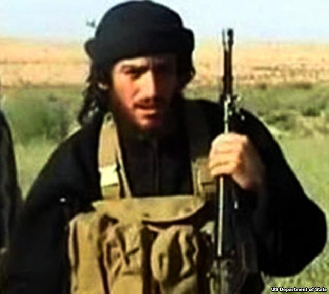 過激派組織「イスラム国」(IS)の広報担当者アブムハンマド・アドナニ容疑者=ロイター
