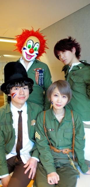 「SEKAI NO OWARI」のメンバー