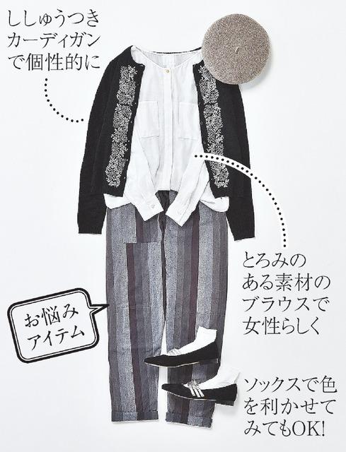 植村美智子のこの服どう着る?
