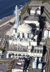 高速増殖原型炉「もんじゅ」=福井県敦賀市、朝日新聞社ヘリから