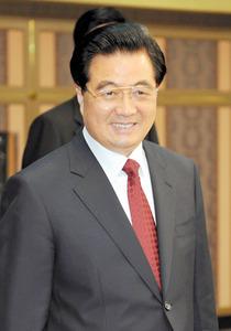 中国の胡錦濤・前国家主席