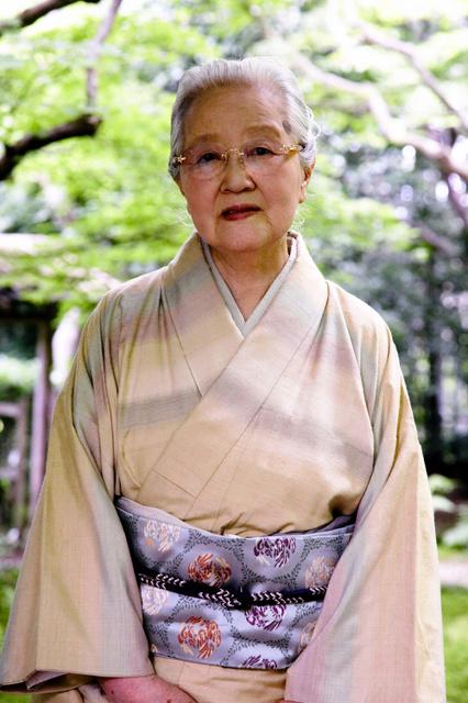 志村ふくみさん=京都市提供