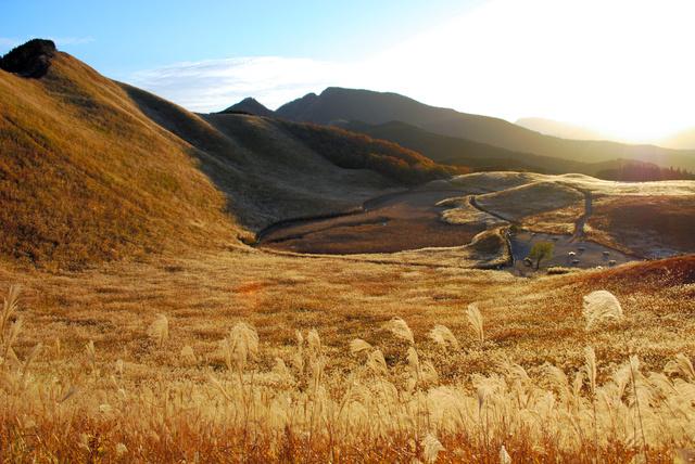 ススキで有名な曽爾高原