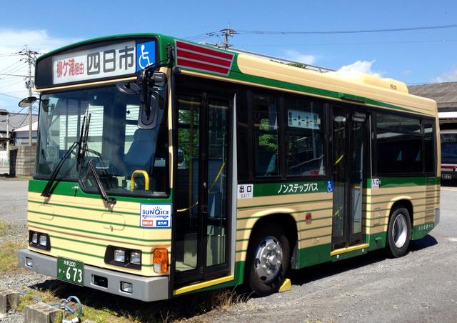 再編される宇佐―豊後高田線(柳ケ浦経由)のバス=大分交通提供