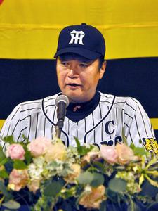 今季限りでの現役引退を表明した阪神の福原