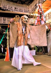 高千穂の夜神楽、講演と舞 25日に国立能楽堂