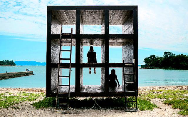 現在の「おひるねハウス」は2013年に建て替えた2代目=谷本結利撮影